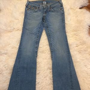 True Religion Light Flare Jeans
